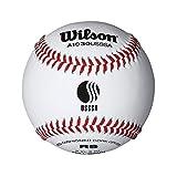 Wilson A1030BUSSSA League Series Baseball (12-Pack), White
