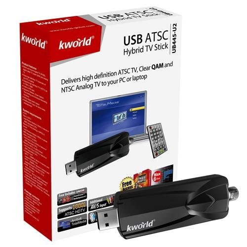 KWorld Hybrid TV Tuner with FM Reception and Video Capture TV Tuners and Video Capture UB445-U2