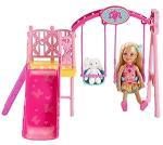 Amazon Barbie Sisters Chelsea Swing Set Ys Games