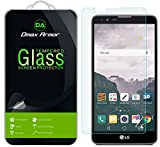 [2-Pack] LG Stylo 2 Screen Protector, Dmax Armor [Tempered Glass] 0.3mm 9H Hardness, Anti-Scratch, Anti-Fingerprint, Bubble Free, Ultra-clear