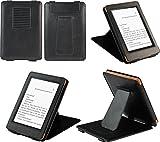 Kindle Paperwhite用レザーケース(オートスリープ機能対応) 黒ブラック【ネットショップ ロガリズム】KPW03-K
