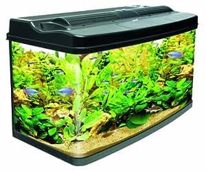 Interpet Original Fish Pod Glass Aquarium Fish Tank   120 Litre