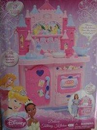 Amazon.com: Disney Princess Deluxe Talking Kitchen: Toys ...