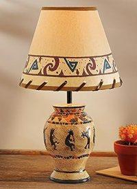 Southwestern Kokopelli Tabletop Lamp - - Amazon.com