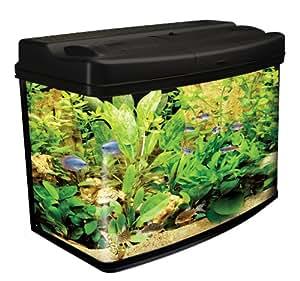 Interpet Original Fish Pod Glass Aquarium Fish Tank   64 Litre: Amazon