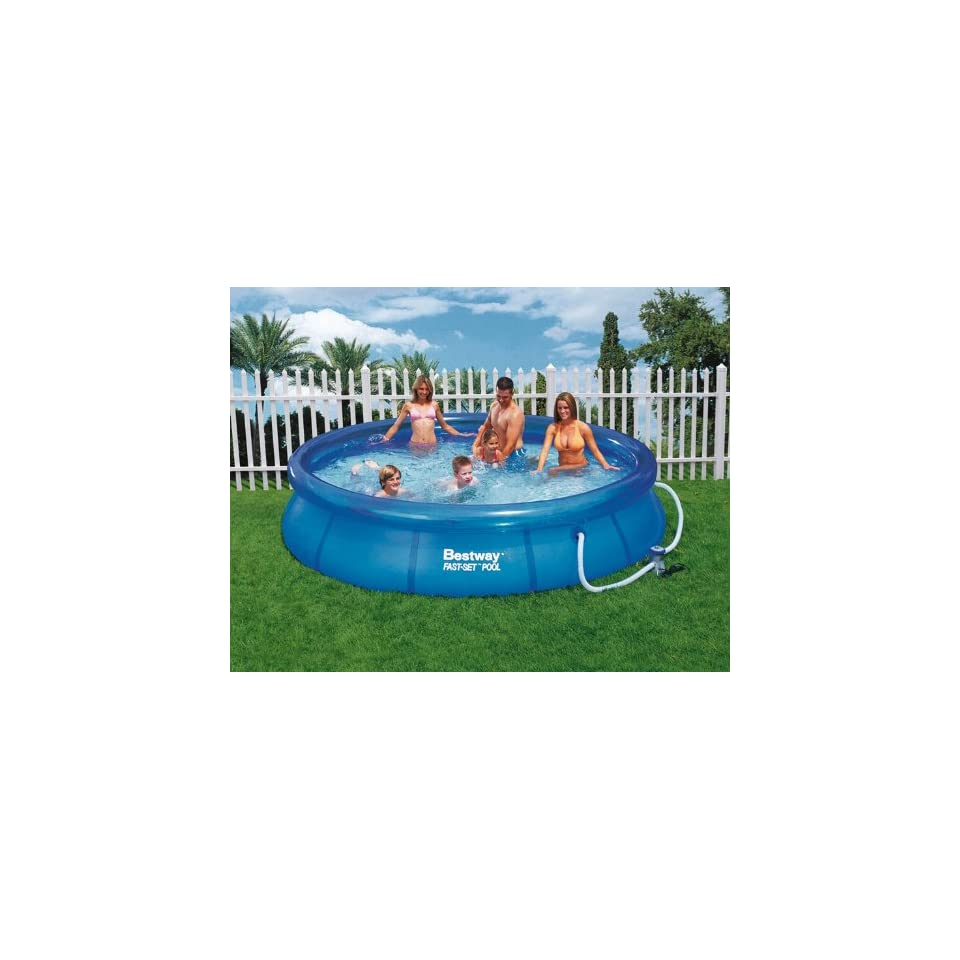Solarplane Pool Intex 305 Bestway Fast Set Pool Ø 305 X 76 Cm 305x76cm Sport On Popscreen