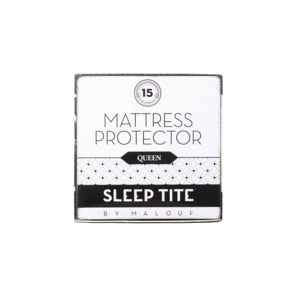 Malouf Sleep Tite Mattress Protector Queen Size Sleep Tite By Malouf Mattress Protector 100 Waterproof