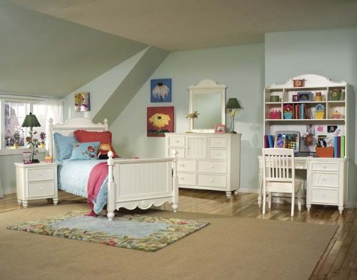 Image of 481 Summer Breeze Low Poster Bedroom Set by Legacy Classic Kids (B0030NCZ34)