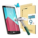 LG G4 Screen Protector,Yootech LG G4 Tempered Glass Screen Protector,0.3mm 9H Hardness Featuring Anti-Scratch,