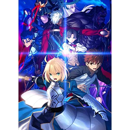 【Amazon.co.jp限定】Fate/stay night [Unlimited Blade Works] Blu-ray Disc Box I【完全生産限定版】(CDサイズスチールケース、描き下ろしB1布ポスター付)