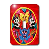 lsp_187609_1 Danita Delimont - Cindy Miller Hopkins - Textiles - China, Beijing. Chinese handicrafts. Colorful Chinese embroidery quilt - Light Switch Covers - single toggle switch