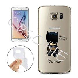 Batman-Catwoman-Harley-Quinn-Wonder-Woman-Superman-Spider-Man-The-Hulk-Deadpool-Jelly-Clear-Case-for-Samsung-Galaxy-S7-EDGE