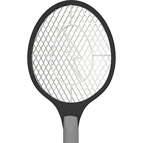 the three meshes of the electric fly swatter zapper racket