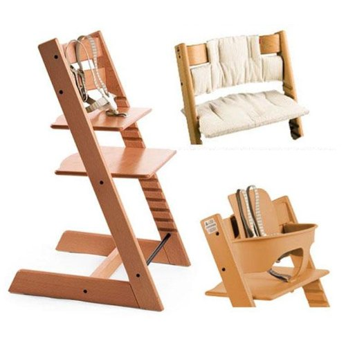 Affordable Stokke Tripp Trapp High Chair Cushion And Baby