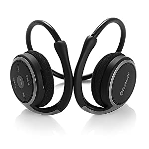 Review of DylanTM Marathon2 Sport Wireless Bluetooth 4.0 Headphones/Headsets with Clear Voice Capture Technology and Echo Cancellation Microphone Rechargeable Bluetooth Headphones Sports Bluetooth Headset Portable Wireless Headphones For Phone Headphones Running Compatible with iPhone 6 6Plus 5S 5C 5 4S, Galaxy Note 3 2 S5 S4 and Google Blackberry LG other Smartphones (Black)