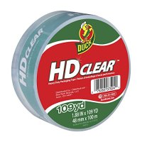Duck Brand HD Clear High Performance Packaging Tape - NO ...