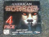American Horror (Super Scary Hidden Object Mysteries, 4 Pack)