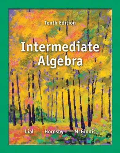 Intermediate Algebra (10th Edition)