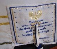 Rabbi Full Body size - Messianic Prayer Shawl - messianic ...