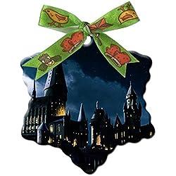 Harry Potter Twitter Custom Unique Fashion Snowflake Shape Ceramics Christmas Gifts Home Decoration