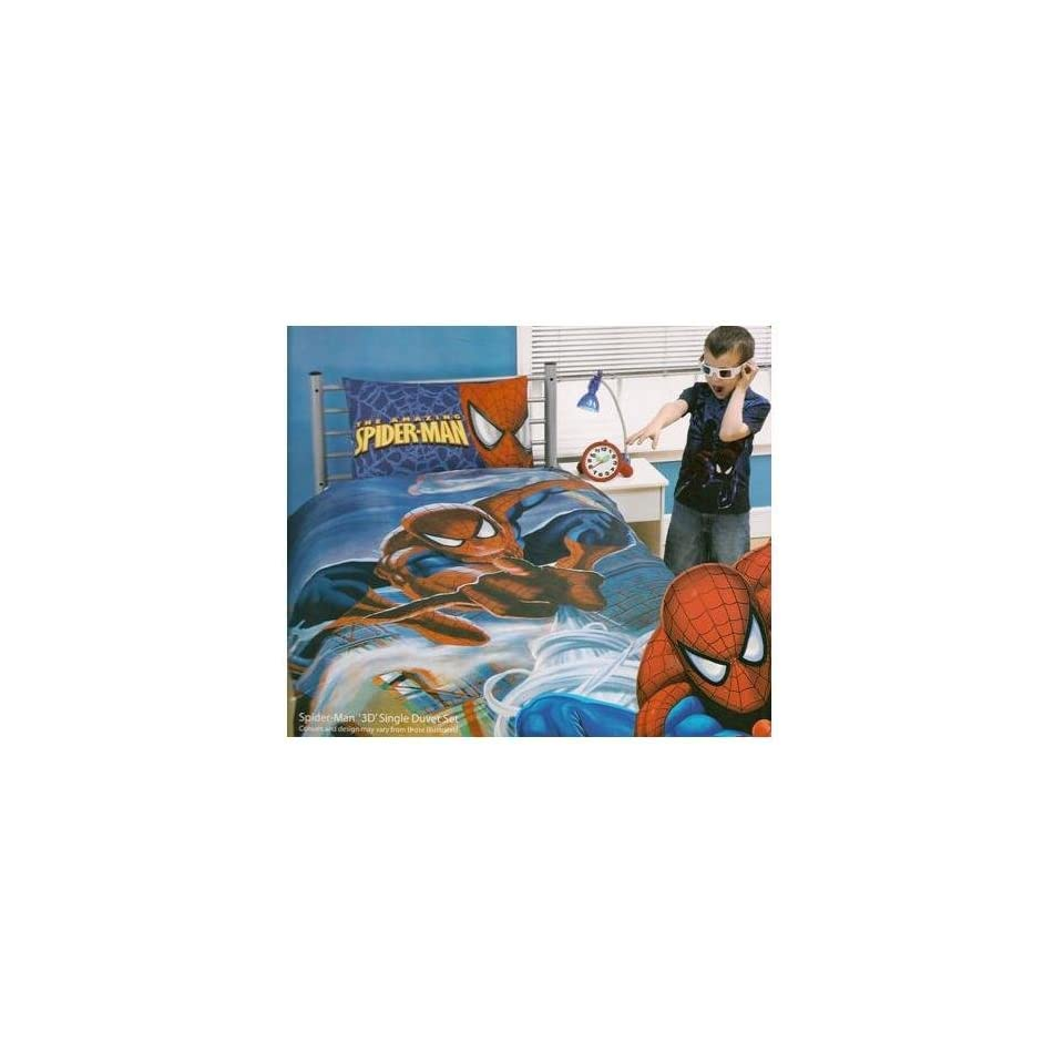 Spiderman Bettwäsche Spiderman 3d Bettwäsche Inkl Brille Ca 135x200 48x74 On Popscreen
