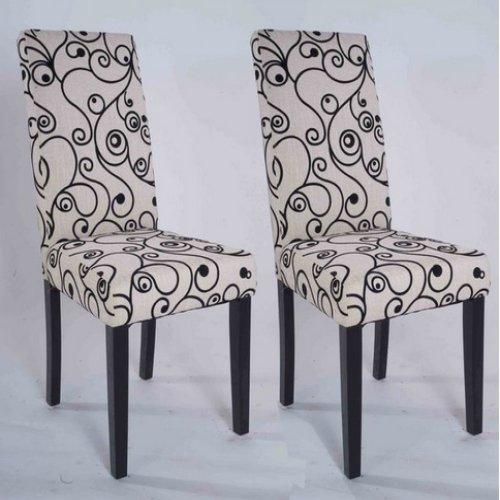 Gtgtgtsale Olivia Parson Chair Black Set Of 2 Find Best Cheap