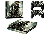 HALO PS4 / プレイステーション 4 対応用カバー 保護 スキン シール skin本体用 コントローラー 用 ×2枚 (HALO 2613)