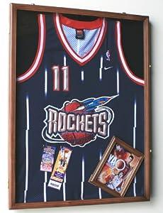 Amazoncom Nba Basketballl Jersey Display Case Cabinet