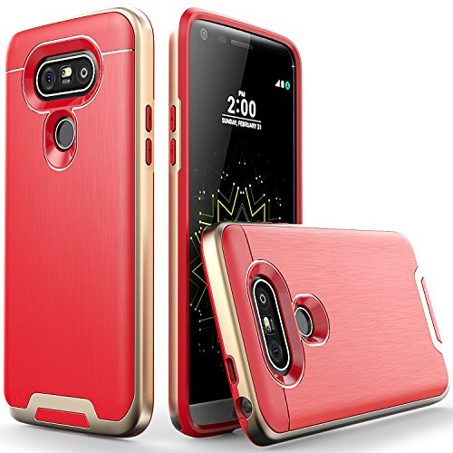 LG-G5-Case-Artech-21-Lazer-Series-Ultra-Slim-Dual-Layers-Protective-Bumper-Hybrid-Case-for-LG-G5Golden-Red