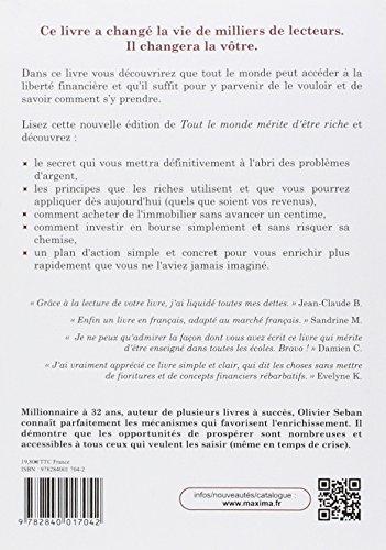 TOUT LE MONDE MERITE DETRE RICHE - 3ème Edition