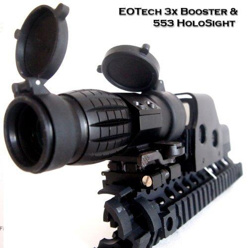 EoTech タイプ 折りたたみ式マウント付 3倍ブースター & 553 ホロサイトセット
