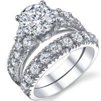 Bridal Sets: High Quality Cubic Zirconia Bridal Sets