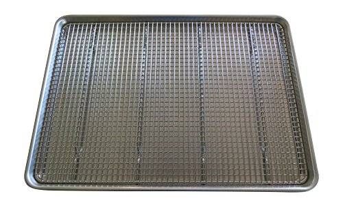Stainless Steel Wire Cooling Rack 14quotx20quot Ultra Heavy Duty