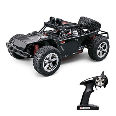 Vatos-RC-Car-Off-Road-High-Speed-4WD-40kmh-112-Scale-50M-Remote-Control-15-Mins-Playing-Time-24GHz-Electric-Vehicle-Buggy-Truck-with-LED-Night-Vision-Li-BatteryUSB-Charger-Cable-Included