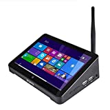 PIPO X8 Mini Pc Dual OS TV BOX Windows 8.1 & Android 4.4 Intel Z3736F Quad Core 2GB / 64GB Tv Box 7 Inch Screen Tablet(US Version imported by uShopMall U.S.A.)