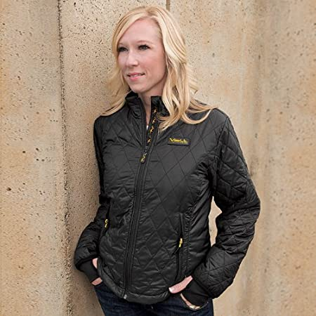 Women's Insulated Heated Jacket with Rechargeable Battery. Heated jackets keep you warm for up to 10 hours. Built-in heat keeps you warm at the press of a button Targeted heating zones get warm in 10 minutes Keeps you warm for up to 10 hours Recharge...