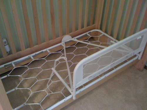 Sale Kidco Convertible Crib Bed Rail Baby High Chair