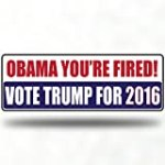 Anti Donald Trump Bumper Stickers Car Stickers Decals