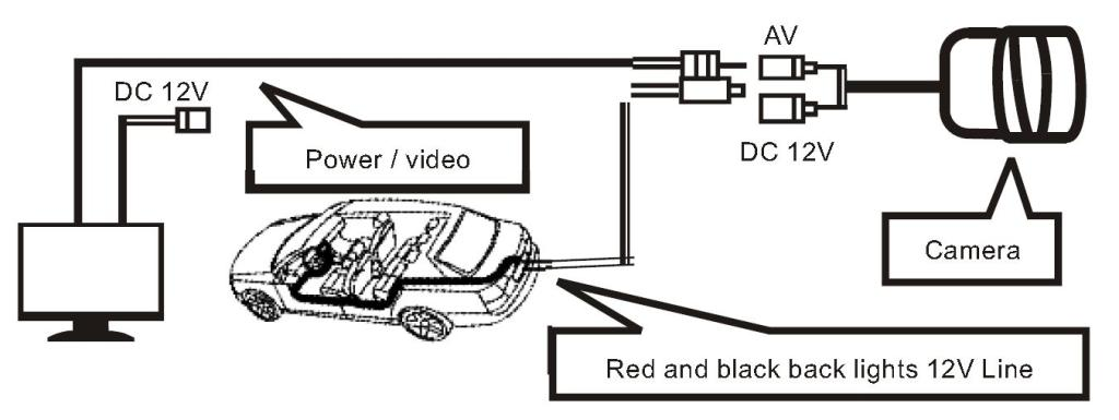 boss backup camera wiring diagram