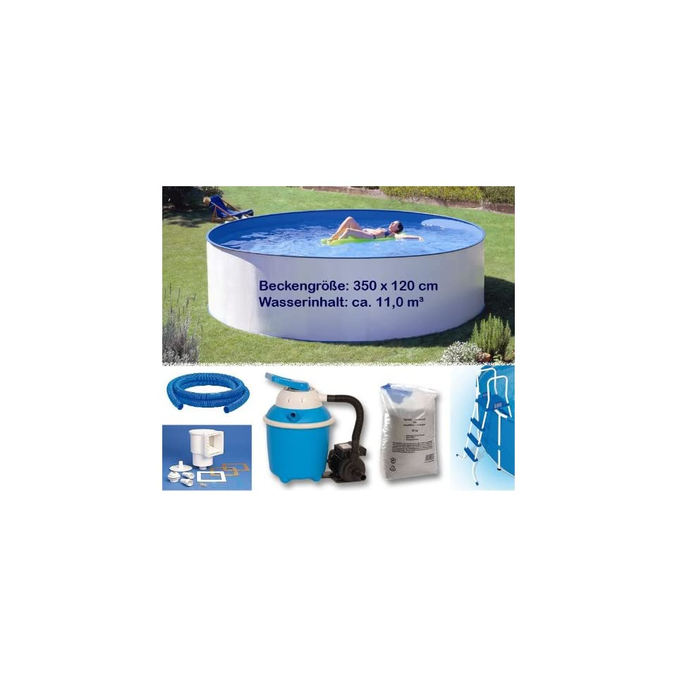 Pool Bodensauger Set Pool Set Premium 3 50 X 1 20m 6mm Folie Stahlmantel
