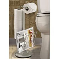 Stand Alone Toilet Paper Holder