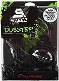 Pioneer SE-D10MT-K Steez Dubstep Headphones with Microphone (Black)