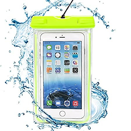 Protection Guaranteed Even Underwater You don't need worry about losing your important phone data due to liquid seepage. The universal waterproof case will keep your phone safe, sound and dry - IPX8 certified to 100 feet or 30 meters.  It's the bes...