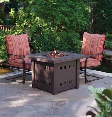 $Cheapest Square Table Gas Fire Pit, 36 SQ GAS FIREPLACE