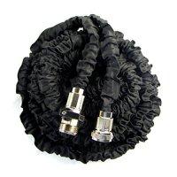 Black 50FT Expandable Garden Hose Shrinking Flexible Magic