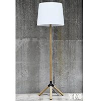 Wood Tripod Lamp Stand Lamp Floor Lamp Light Umbrella ...