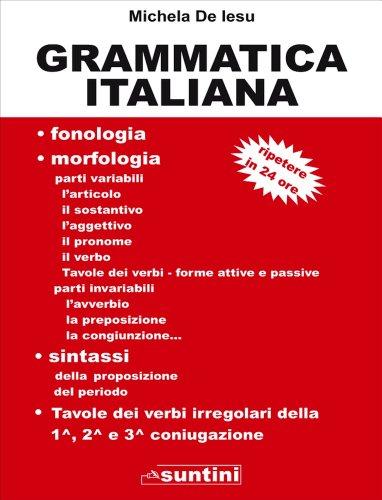 Grammatica Italiana (Suntini)