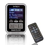 Satechi Soundfly AUX MP3プレーヤー 車載FMトランスミッター リモコン付き SDカード/USBスティック/MP3プレーヤー(iPod, Zune, Sansa)対応