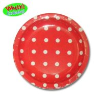 Awardpedia - Paper Plates Red Polka Dot