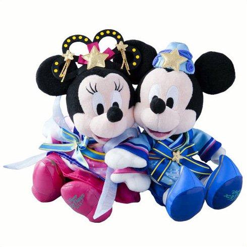 ディズニーリゾート限定 2014 ディズニー七夕デイズ 七夕 ぬいぐるみ ミッキー&ミニー